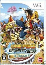 Used Wii One Piece Unlimited Cruise Nintendo JAPAN  JAPANESE JAPONAIS IMPORT