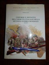 LIBRO MILITARIA ITALIANA DELLA  SECONDA GUERRA MONDIALE