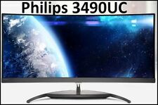 Philips 3490UC Curved Monitor Perfect Pixel / Wide 21:9 / AH-IPS / Wide View