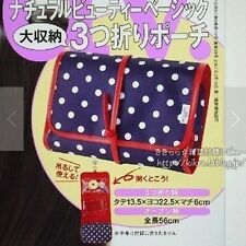 Japanese Magazine Appendix Travel Cosmetic Bag Case Organizer Toiletry hanging