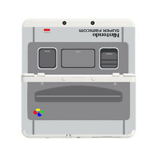Custom Printed Super Nintendo Snes New Nintendo 3DS Faceplate Pair Cover Plates