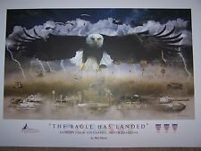 """""""The Eagle Has Landed"""" - Fort Bragg, NC - Military Print Art - Overrun"""