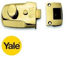 Yale De Bronce De 60 Mm p77m/blx Noche pestillo nightlatch Cerradura sólo-no Cilindro