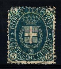 ITALIA - Regno - 1889 - Effigie di Umberto I° - 5 cent. verde