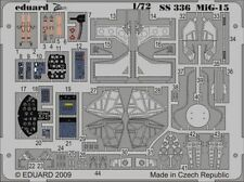PHOTO-ETCHED SET MIG-15 COLOR, FOR HOBBYBOSS KIT 1/72 EDUARD SS336