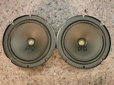 "1 PAIR BOSE 6.5"" MIDBASS CAR SPEAKERS 2 OHM 25W MERCEDES E C CLASS CADILLAC 24"