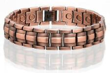 NEW COPPER MAGNETIC LINK BRACELET mens womens STYLE#LE  jewelry health Energy