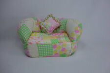 Blythe Barbie Miniature Handmade Furniture sofa couch chair doll house #6