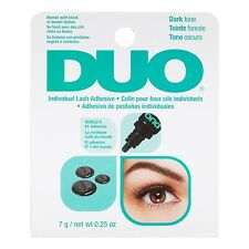DUO Individual Lash Adhesive False Eyelash Glue Dropper Black Dark Tone 0.25oz