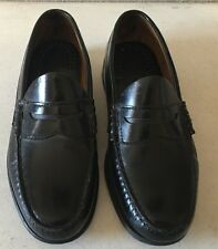 Boy's G.H. BASS & CO. Black Loafers (Size: 7)