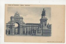 Praca Do Commercio Lisboa Portugal Vintage U/B Postcard 491b