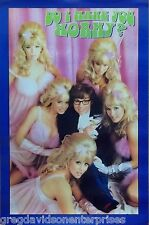 Austin Powers 23x35 Horny Movie Poster 1998 Mike Myers
