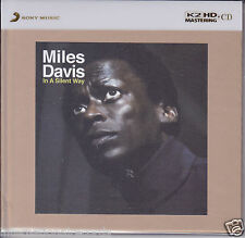 """Miles Davis - In a Silent Way"" Japan Limited Numbered 100KHz/24bit K2HD CD New"