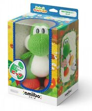 F/S Nintendo amiibo Knitted Mega Yarn Yoshi Wooly World Big Wii U figure game