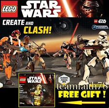 LEGO Star Wars Buildable Figures 75113 75114 75115 75116 75117 75118 + C3PO Free