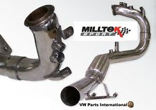 VW Golf MK5 GT 2.0 TDI 170PS MILLTEK Sport 2.75″ Downpipe DPF Optimisation Pipe