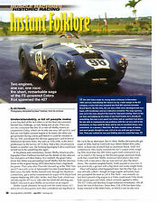 1964 SHELBY COBRA CSX2196 / FE-BLOCK 390  ~  GREAT 2-PAGE ARTICLE / AD