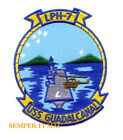 USS GUADALCANAL LPH7 US NAVY MARINES PATCH NAS PIN UP GIFT WING CH53 CH46 FMF
