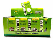 NICFREE Disposable Cigarette Filters! Less Tar & Nicotine Same Taste - 20 Pack!