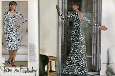 Vintage 70's VOGUE 1548 DIANE VON FURSTENBERG sewing pattern -as worn by celebs