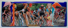 FLOMO VTG 80's BICYCLE RACE PENCIL BOX CASE STATIONERY TAIWAN MADE UNUSED