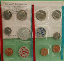 1968 United States Mint Uncirculated 10 Coin Set BU FREE SHIPPING in USA