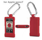 With Mountaineer Buckle Soft Silicone Protective Cover Case For Apple iPod nano7