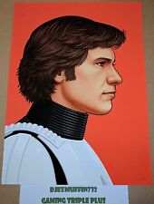 HAN SOLO 12X16 GICLEE LIMITED EDITION (MIKE MITCHELL) STAR WARS (OOP)