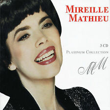 Platinum Collection by Mireille Mathieu (CD, Apr-2005, Emi) 3 CD,s  NEW SEALED