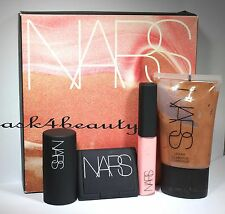 Nars Andy Warhol Sea Of Love 4 Pc Set illuminator,Blush,Lip Gloss,Multiple Nib