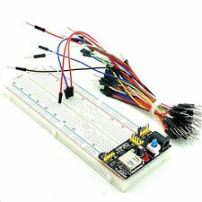 Module 3.3V 5V +65PCS Jump Cable Wires Breadboard Board 830 Point Solderless