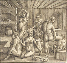 Albrecht Durer: The Women's Bath - Fine Art Canvas Print
