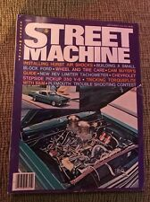 Street Machine Magazine September 1976 Small Block Ford-chevy Plymouth