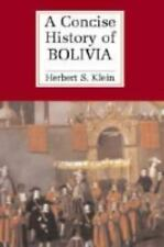 A Concise History of Bolivia (Cambridge Concise Histories)-ExLibrary