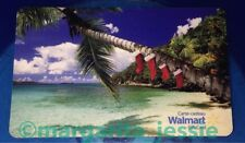 "WALMART CANADA ""Tropical Xmas PALM TREE STOCKINGS"" GIFT CARD NO VALUE NEW"