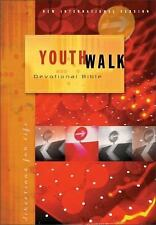 Youthwalk Devotional Bible : Daily Devotions for Students 15-18 by Zondervan...
