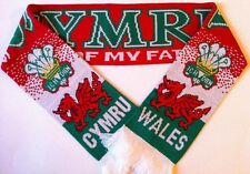 WALES Football Scarve NEW from Superior Acrylic Yarns