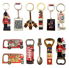 I LOVE LONDON SOUVENIRS FRIDGE MAGNET AND KEY RINGS SET OF x 12