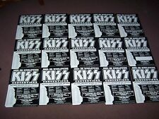 1995 Kiss Convention Posters 15 Different Cities Rare Return Of Ace Peter promo