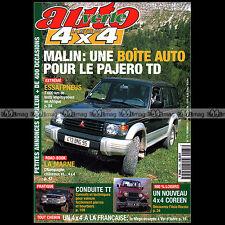 AUTO VERTE N°173 PAJERO NISSAN TERRANO V6 OPEL CAMPO MEGA 4X4 CAMEL TROPHY 1995