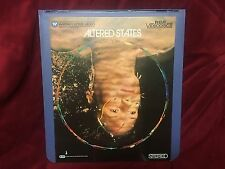 Vintage RCA Videodisc Video Disc Altereed States Classic Warner Horror Bill Hurt