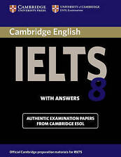 Cambridge IELTS 8 Student's Book with Answers, Cambridge ESOL