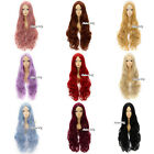 80cm Cosplay Anime Wig 14 Colors Heat Resistant Curly Long + Free Wig Cap