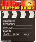 Hollywood Clapperboard Directors Decoration Clapper Board Film Party Hand Prop