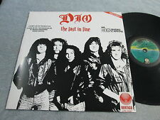 """DIO """"THE LAST IN LINE"""" MEXICO PROMOTIONAL EXTREMELY RARE PS MEXICAN NICE!!"""