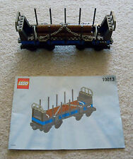 LEGO Train - Rare Open Freight Wagon 10013 - Complete w/ Instructions Excellent