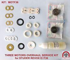 Revox Studer G36 motors overhaul kit  - also for B36, C36 D36, E36, F36