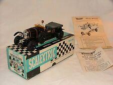 Scalextric Negro C64 Bentley con caja y las instrucciones