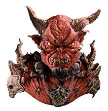 El Diablo Devil Overhead Mask Shoulders Demon Costume Adult Halloween