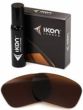Polarized IKON Replacement Lenses For Oakley Sideways Sunglasses Bronze/Brown